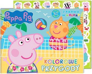 Peppa Pig. Zabawa w kolory. Kolorowe przygody-Opracowanie zbiorowe