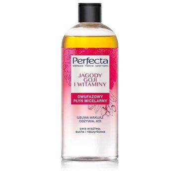Perfecta, Oczyszczanie, płyn micelarny dwufazowy Jagody Goji i Witaminy, 400 ml-Perfecta