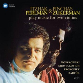 Perlman Itzhak & Pimchas Zukerman Play Music For Two Violins-Perlman Itzhak, Sanders Samuel