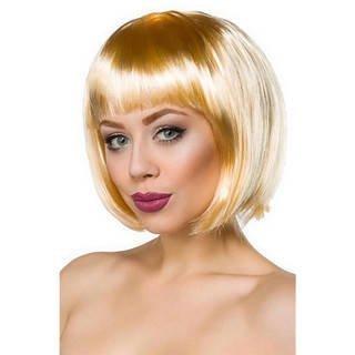 Peruka blond z grzywką-KRASZEK