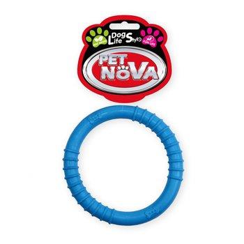 Pet Nova Ringo z gumy niebieskie 9,5cm-PET NOVA