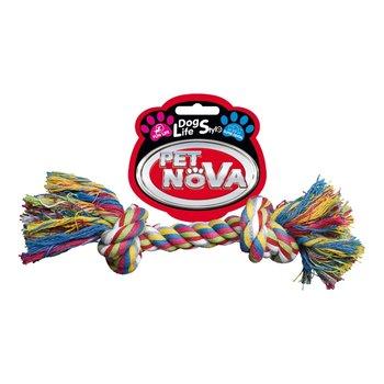 Pet Nova Sznur bawełniany 2 węzły 17cm-PET NOVA