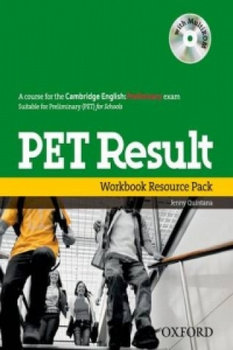 PET Result:: Printed Workbook Resource Pack Without Key-Quintana Jenny