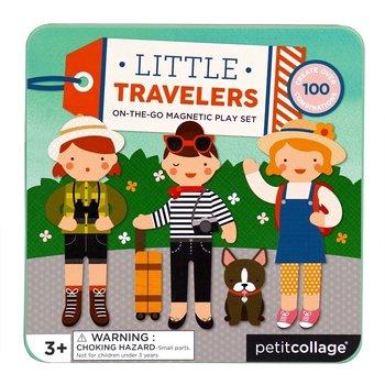 Petit Collage, zestaw kreatywny Magnetyczne postacie - Podróż-Petit Collage