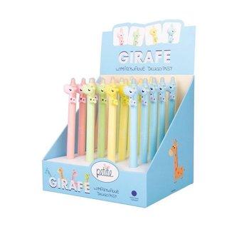 Petite wymazywalny długopis automatyczny z serii girafe (SSC077)-PILOT WPC