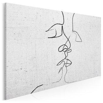 Pętla egzystencji - nowoczesny obraz na płótnie - 120x80 cm-VAKU-DSGN Nowoczesne obrazy