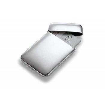 Philippi, Wizytownik Cushion, srebrny, 10 cm-Philippi