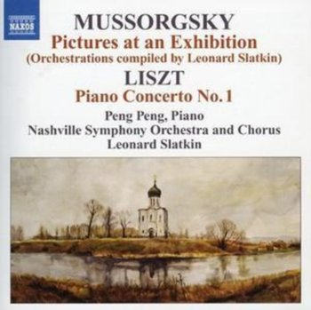 Pictures at an Exhibition / Piano Concerto No. 1 - Slatkin Leonard