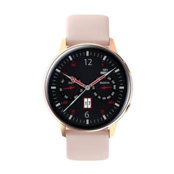 Piękny Stylowy  AMOLED, różowy-Watchmark