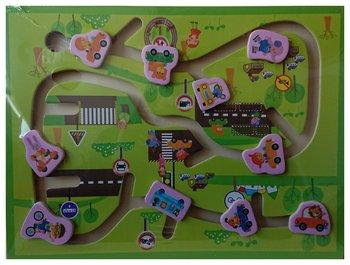 Pierot, tablica edukacyjna Pojazdy-Pierot