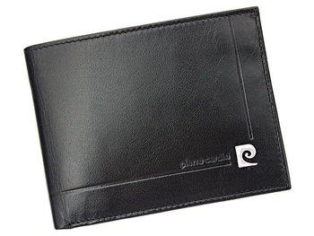 Pierre Cardin, Portfel skórzany męski, czarny, YS507.1 325 RFID  -Pierre Cardin