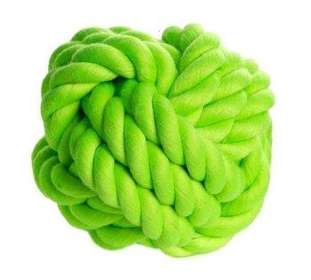 Piłka ze sznura CHICO, zielona, 7,6 cm -Chico