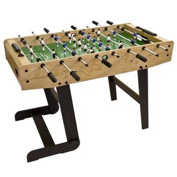 Piłkarzyki, stolik piłkarski gra w piłkarzyki składane, Trambambula, 121x101x79 cm -MKS