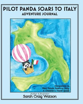 Pilot Panda Soars to Italy Adventure Journal-Watson Sarah