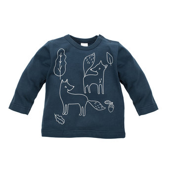 Pinokio, Bluzka dziecięca z długim rękawem, rozmiar 92-Pinokio