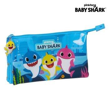 Piórnik Baby Shark Jasnoniebieski-Baby Shark