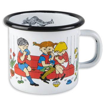 Pippi, Filiżanka kawy, Kubek emaliowany, biały, 250 ml