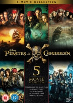 Pirates of the Caribbean: 5-movie Collection (brak polskiej wersji językowej)-Marshall Rob, Ronning Joachim, Verbinski Gore, Sandberg Espen