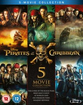 Pirates of the Caribbean: 5-movie Collection (brak polskiej wersji językowej)-Marshall Rob, Verbinski Gore, Sandberg Espen, Ronning Joachim