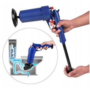 Pistolet przepychacz do udrożniania rur WC zlewu-Frahs