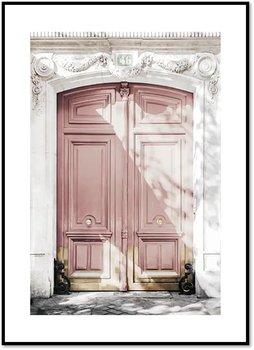 Plakat Fabryka Plakatu, A2 Różowe Drzwi 42x60 cm-Fabryka plakatu