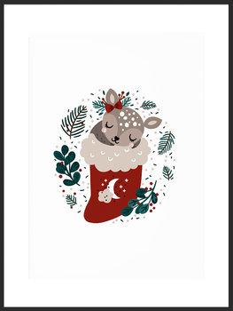 Plakat Fabryka Plakatu, B1 Merry Christmas 70x100 cm-Fabryka plakatu