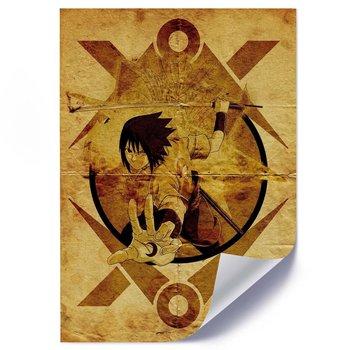 Plakat FEEBY Anime wojownik z mieczem, 50x70 cm-Feeby