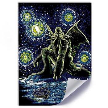 Plakat FEEBY Cthulhu, 40x60 cm-Feeby