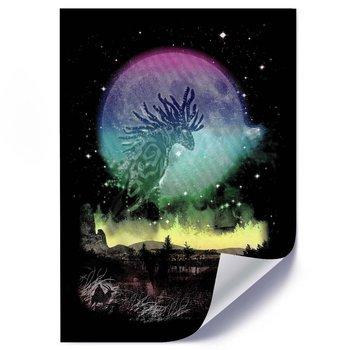 Plakat FEEBY Duch lasu, 50x70 cm-Feeby