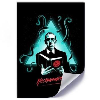 Plakat FEEBY H.P. Lovecraft Necronomicon, 50x70 cm-Feeby