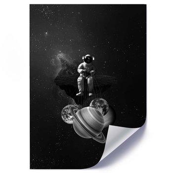 Plakat FEEBY Kosmos abstrakcja, 70x100 cm-Feeby