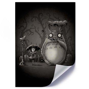 Plakat FEEBY Mój sąsiad Totoro, 70x100 cm-Feeby