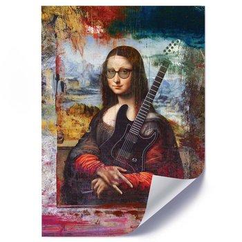 Plakat FEEBY Rockowa sztuka, 50x70 cm-Feeby