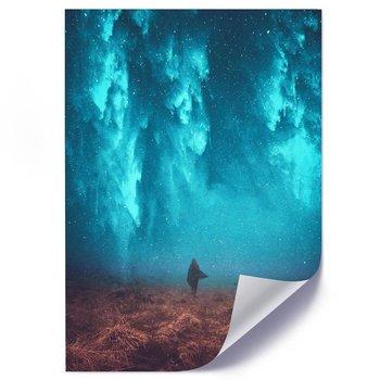 Plakat FEEBY Spacer nocą, 50x70 cm-Feeby