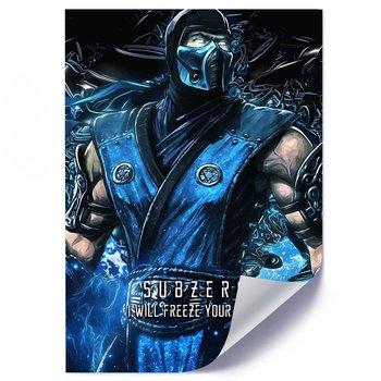 Plakat FEEBY Subzero postać z gry, 50x70 cm-Feeby