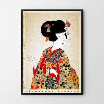 Plakat HOG STUDIO Gejsza, 40x50 cm-Hog Studio