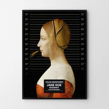 Plakat HOG STUDIO Jane Doe, A4, 21x29,7 cm-Hog Studio