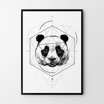 Plakat HOG STUDIO Panda, A4, 21x29,7 cm-Hog Studio