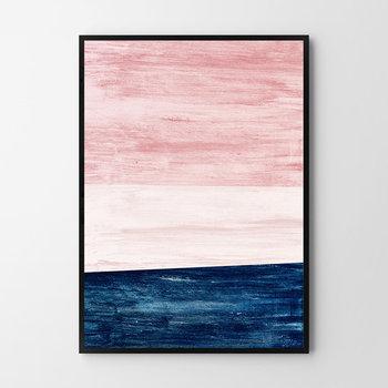 Plakat HOG STUDIO Różowy Horyzont, 30x40 cm-Hog Studio