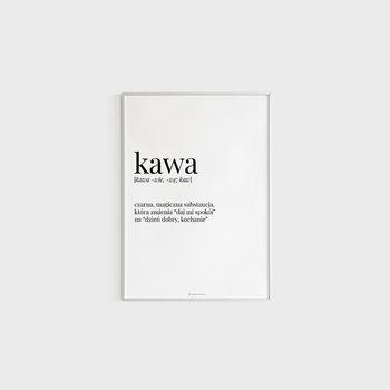 Plakat, Kawa, 42x29,7 cm-Voska Studio
