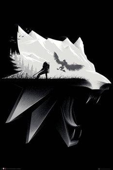 Plakat Maxi Pojedynek - Wiedźmin-GB eye
