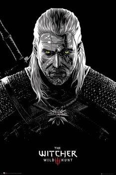 Plakat Maxi Zatruty Geralt - Wiedźmin-GB eye