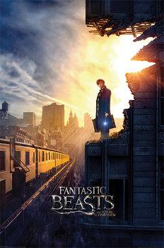 Plakat PYRAMID INTERNATIONAL, Fantastic Beasts - Dusk Maxi Poster, 61x91 cm-Pyramid International
