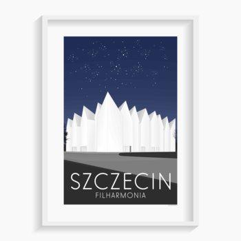 Plakat Szczecin A3 29,7x42 cm-A. W. WIĘCKIEWICZ