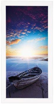 Plakat w białej ramie, 30x70 cm- Coast 1-Postergaleria