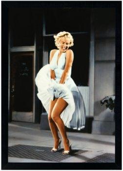 Plakat w czarnej ramie, 50x70 cm- Marylin Monroe 2-Postergaleria