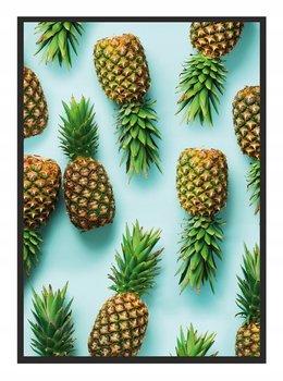 Plakat w ramie E-DRUK Ananas, 33x43 cm-e-druk