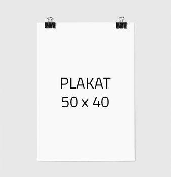 Plakat w ramie E-DRUK BEZ RAMKI, 40x50 cm-e-druk