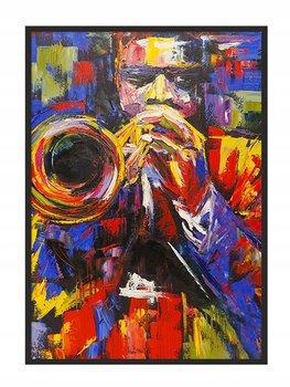 Plakat w ramie E-DRUK Jazz, 53x73 cm-e-druk