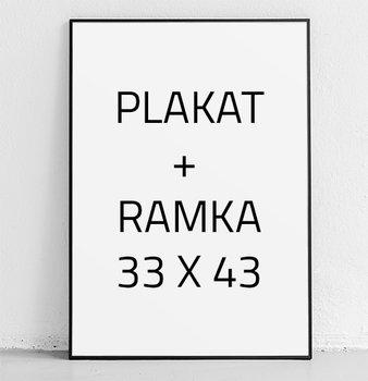 Plakat w ramie E-DRUK + RAMKA, 30x40 cm-e-druk